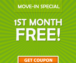 St. Augustine storage move-in coupon